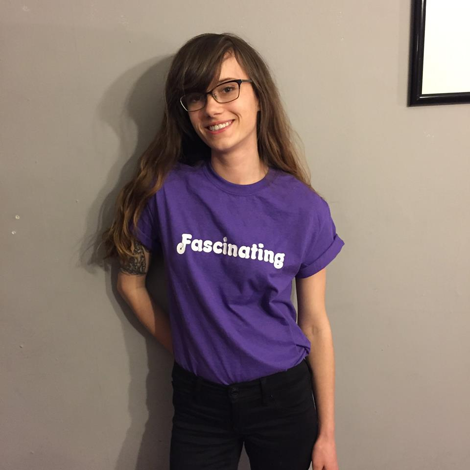 Kinsey in Purple Fascinating T Shirt Quality Time Records Cleveland
